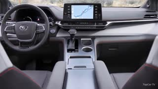 Toyota Sienna Minivan 2021 Family car