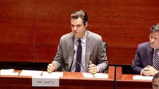 Matt Gaetz GRILLS Biden's FBI Head Over the Covid Coverup Until Dem Nadler Unfairly Cuts Him Off