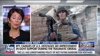 James Foley's mother praises Trump administration