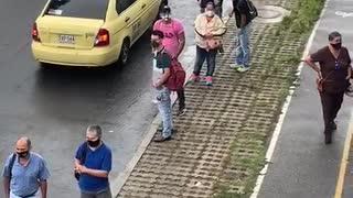 Así se movilizan los usuarios de Piedecuesta y el Norte de Bucaramanga