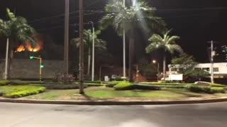 Video: toque de queda en Cartagena