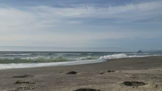 One minute of soothing ocean waves