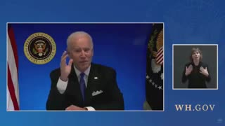 White House Cuts Off Biden's Live Feed Before He Can Take Questions