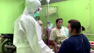 Doctor in Jakarta battles to help COVID patients