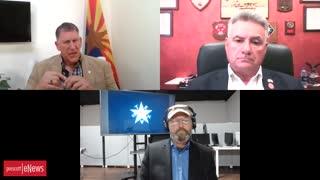 Arizona Today - Interview with Senator Borrelli and Col. Waldron