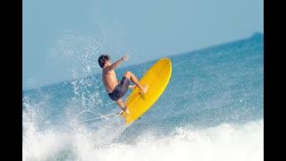 BEACH , GIRLS AND SURFING PLEASURE MUSIC