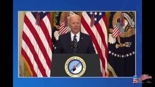 Biden speech shortened