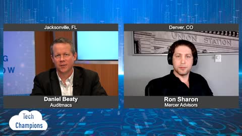 """""""Tech Champions"""" with Ron Sharon from Mercer Advisors"""