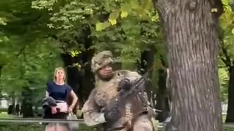 Latvia military exercises shock locals