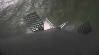 Chinese rocket landing!