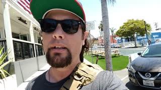 Checar el Calle en Pacific Beach San Diego California