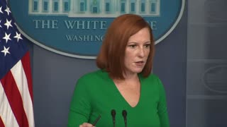 Psaki is asked about Capitol fencing going back up