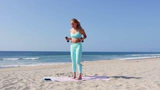 10 min light weight arm workout