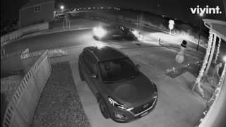 Clumsy Porch Pirate Tripped by Frosty