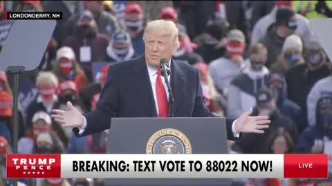 Trump Rally short clip 12