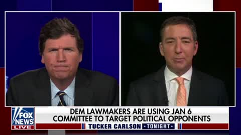 Glenn Greenwald talks to Tucker Carlson about how Jan. 6 is being used to erode civil liberties