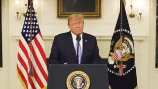 President Donald J Trump Address the Nation at 20210107-1800 Central