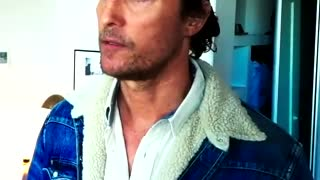 Matthew McConaughey Makes AWESOME Video About Values