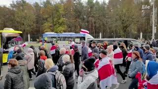 Two journalists imprisoned after Belarus coverage