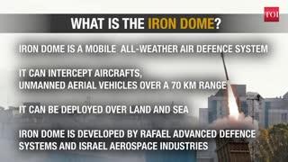 How Israel dodges Palestinian rockets,