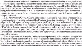 Vampire - The Undead Encyclopedia
