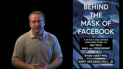Ryan Hartwig - New Book - Behind the Mask of Facebook