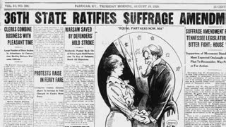The True Story Behind Women's Equality Day