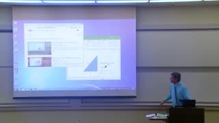 Math Professor Fixes Projector Screen Funny Prank