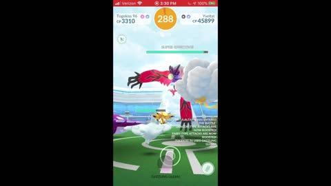Pokemon Go - Yveltal Raiding