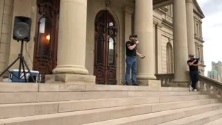 Day 4 Michigan State Capitol STOP THE STEAL Video 3