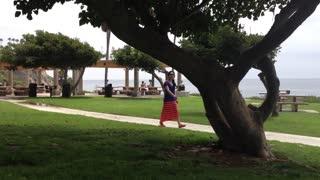 Picnic at Laguna Beach, Ca.