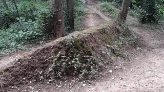 Dirt Ramps Found on Hike
