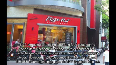 NPC International Inc., the brand of Pizza Hut restaurants was bankruptcy