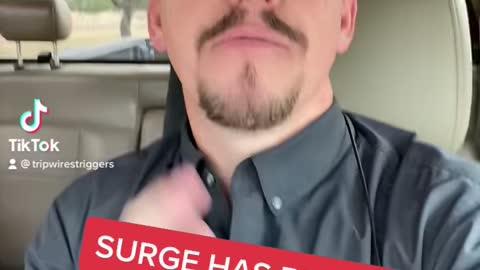 Surge has begun