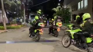 control de la policía de Bucaramanga | protestas