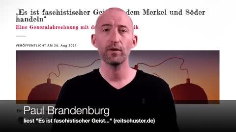"""""""Es ist faschistischer Geist...""""; Gastbeitrag auf reitschuster.de"""