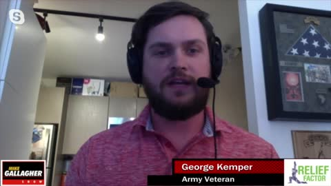 Army Veteran George Kemper had a job offer rescinded for political social media posts