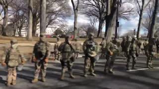 Military turns back on Biden, NOT ONE Salute!