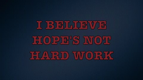 I Believe Love