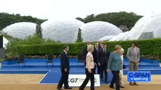 CRINGE! Nobody Speaks to Biden in Awkward Moment at G7 Summit