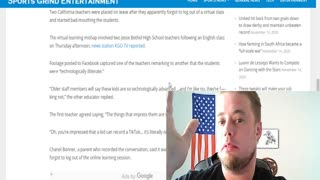 California Teachers Disparage Students on Zoom
