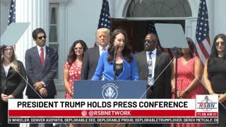 President Donald J. Trump Holds Press Conference; Announces Big Tech Lawsuit 7-7-21