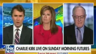 Charlie Kirk names Ashli Babbit's alleged killer on Jan6.