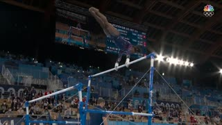 Simone Biles reaches EVERY individual final after strong bars routine Tokyo Olympics