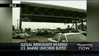 Illegal Aliens Impersonate Marines