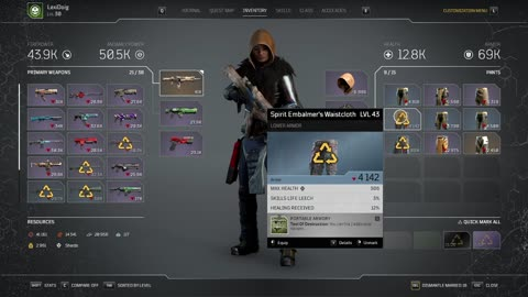 Outriders Technomancer Build Tech Shaman and Live Stream Expeditions T9-10 042721 2107