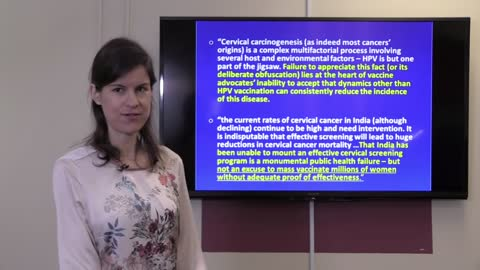 HPV Vaccine Safety and Efficacy Issues: Dr. Tomljenovic's in Vancouver, 2015.
