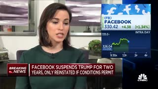 Facebook fighting with Donald Trump