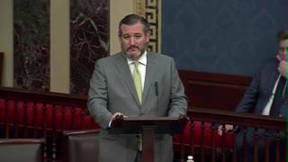 Ted Cruz SLAMS Chinese Communist Party During Senate Speech