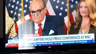 President Trump press conference 2020